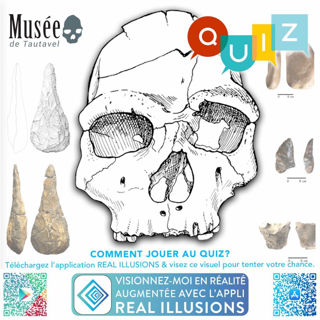 Préhisto-Quizz du Confinement musée de tautavel